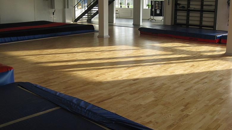 Nyt springcenter til idrætsefterskole